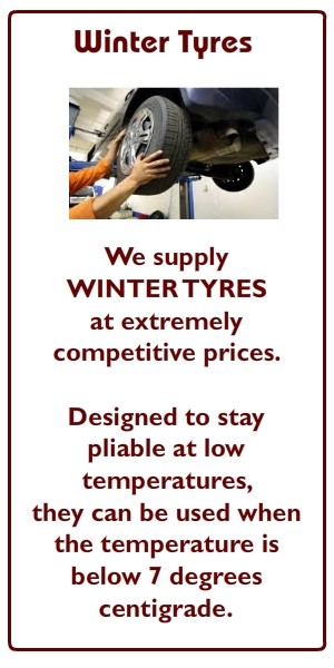 Winter Tyres at Colemans